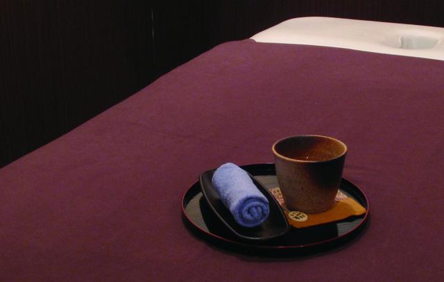 Relax京阪三条北ビル店_ハーブティーサービス