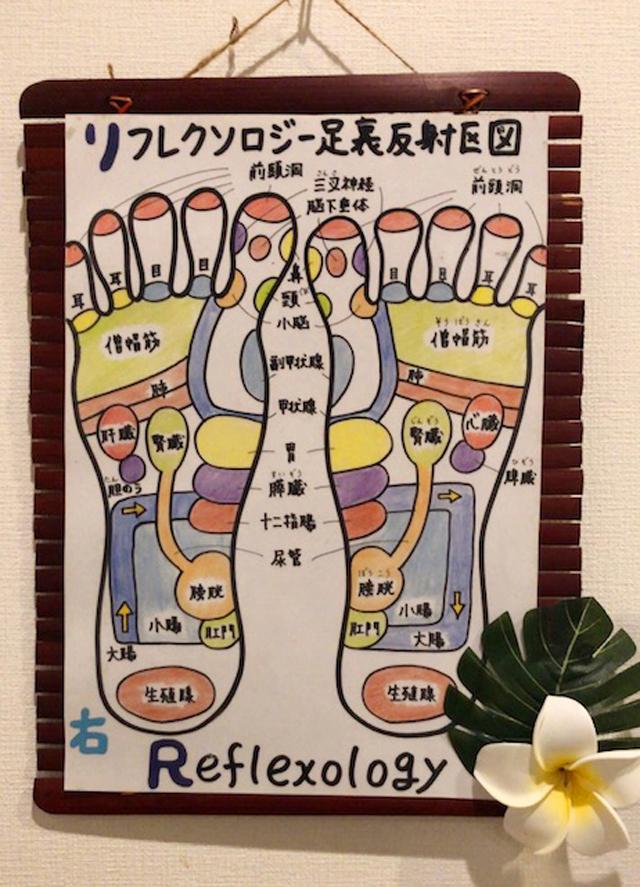 Relaxビエラ姫路店_リフレ_足裏反射区