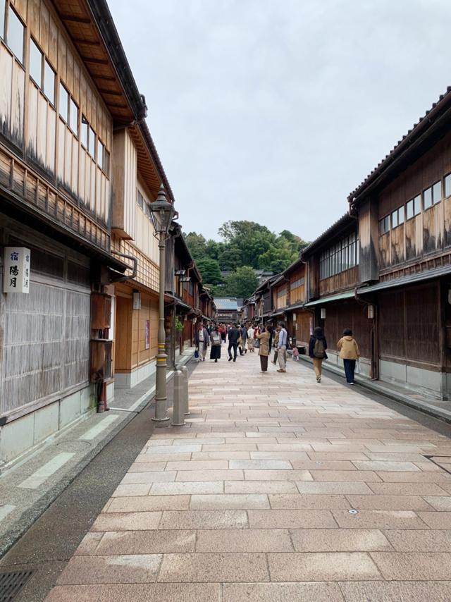 金沢の街並み