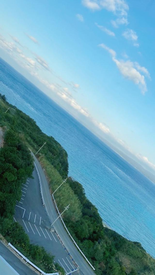 沖縄の海と空